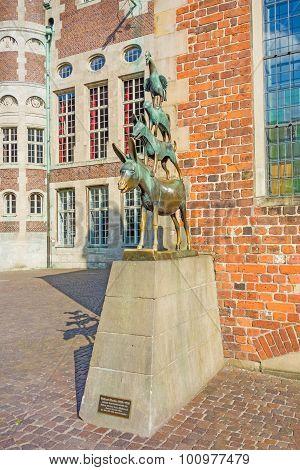 Bremer Stadtmusikanten Sculpture