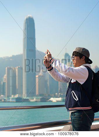 Tourist In Hong Kong