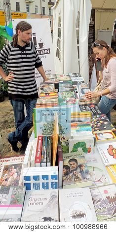 To See The Book On The Street Stall