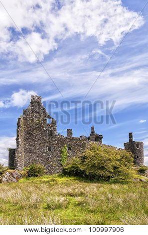 Kilchurn Castle Scottish Ruin