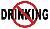 stop drinking alcohol go to rehab for alcoholic dependance and addiction  poster