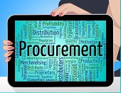 Procurement Word Meaning Buyer Words And Procuring poster
