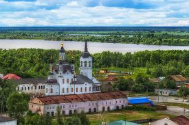 Tobolsk Church Zachariah And Elizabeth Centre Top View