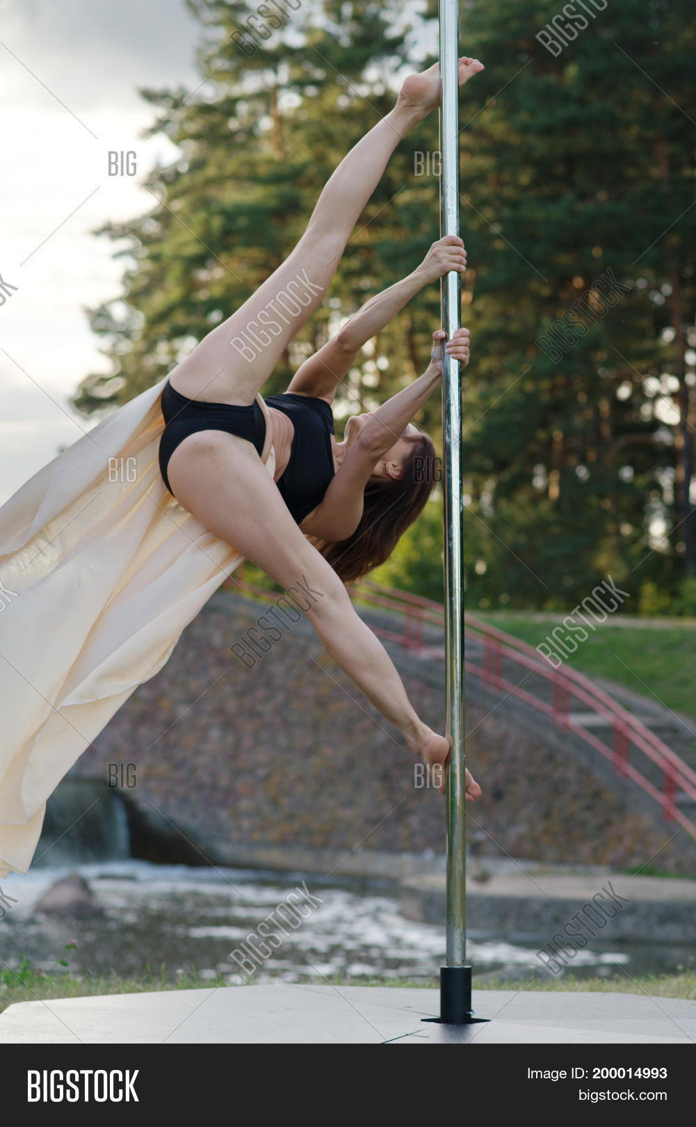 Young Sexy Pole Dance Image Photo Free Trial Bigstock