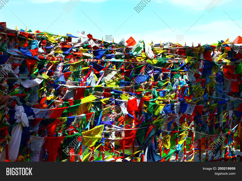 Buddhism Prayer Flags Image & Photo (Free Trial) | Bigstock
