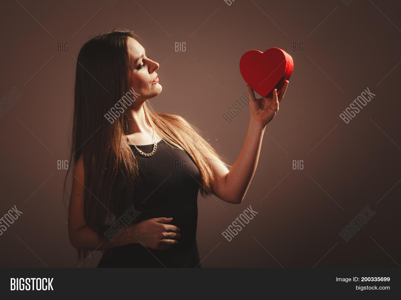 Valentine Day Woman Image Photo Free Trial Bigstock