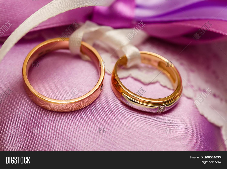 Golden Wedding Rings Image & Photo (Free Trial) | Bigstock