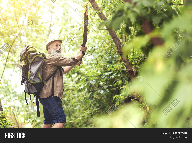 Terrified Old Man Image Photo Free Trial Bigstock