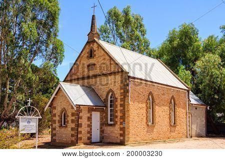 St John Lutheran Church was originally a Methodist church built in 1866 - Auburn, SA, Australia