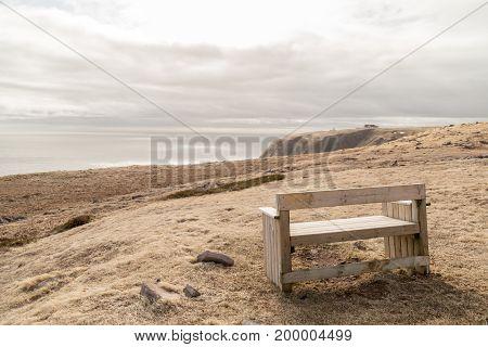 Wood Bench Saint Mary's Newfoundland