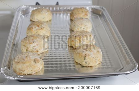 Raw Cheesy Biscuits