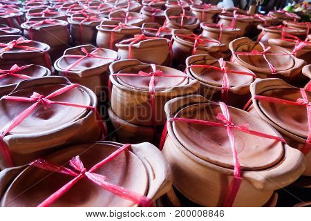 pottery asia Clay Pots kitchenware thai culture