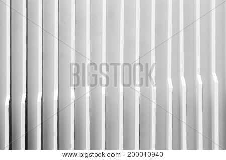 fin wall background interior of modern building
