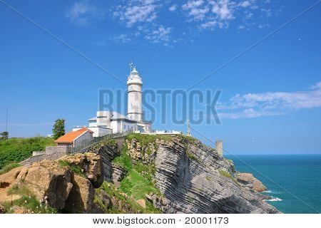 Lighthouse Of Cabo Mayor