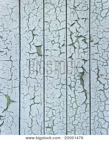 Pattern of paint cracks