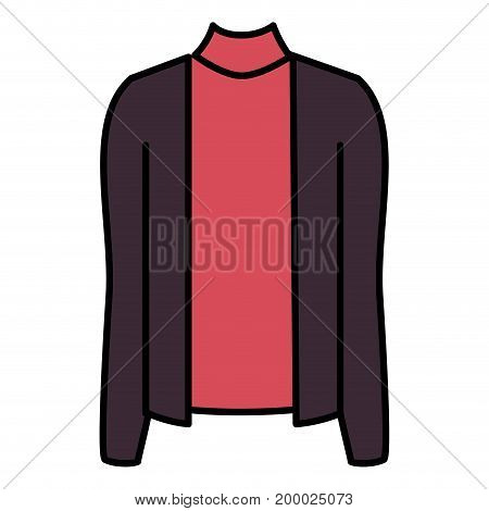 female blouse isolated icon vector illustration design
