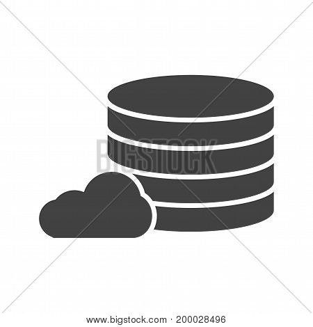 Database, data, management icon vector image. Can also be used for IT Services. Suitable for use on web apps, mobile apps and print media.