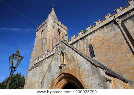 Holy Trinity Church in Bradford on Avon, UK