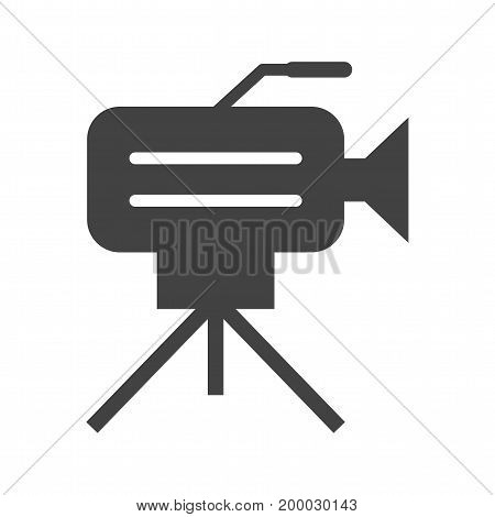 Camera, studio, stand icon vector image. Can also be used for news and media. Suitable for use on web apps, mobile apps and print media.