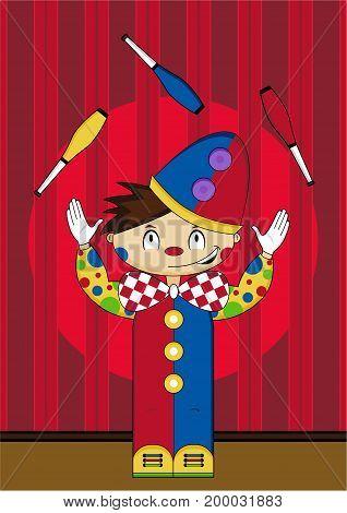 Circus Clown Scene