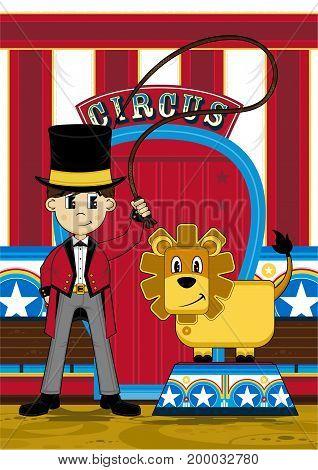 Circus Lion Tamer 2011