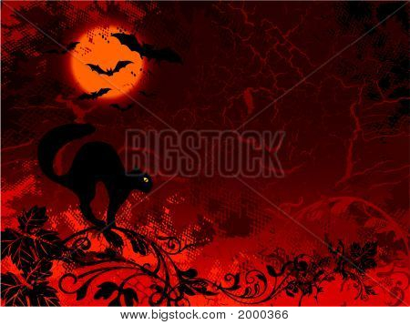 Catbat Halloween
