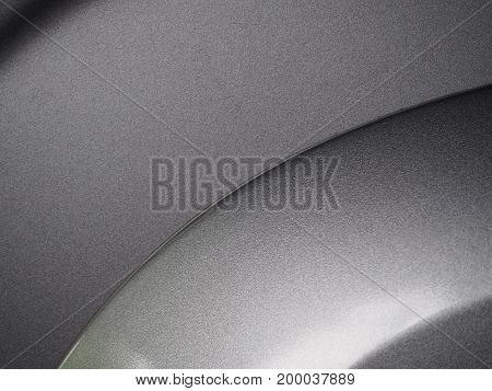 Classic and beautiful curve of silver abstract background.