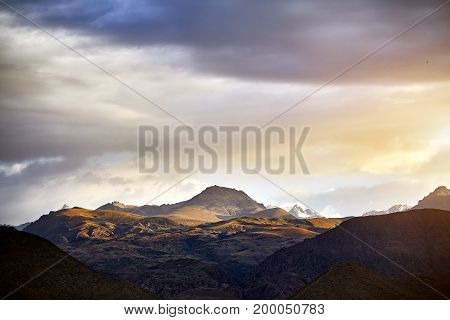 Beautiful Landscape Of Mountains