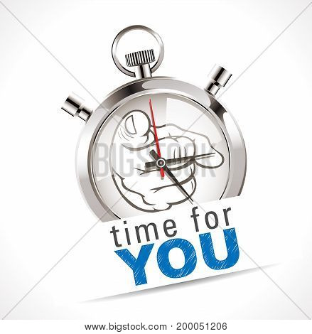 Stopwatch - time for YOU - give yourself more time