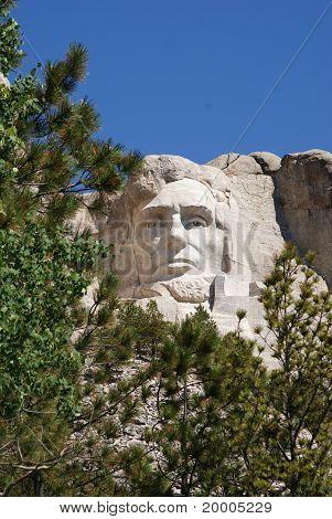 Mount Rusmore Abraham Lincol