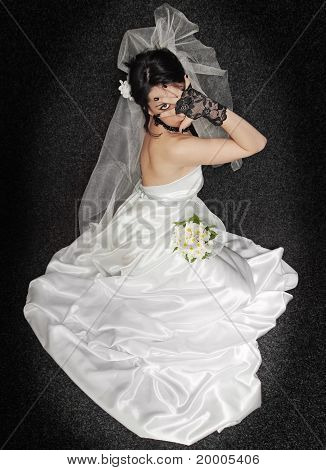 Bride On Dark