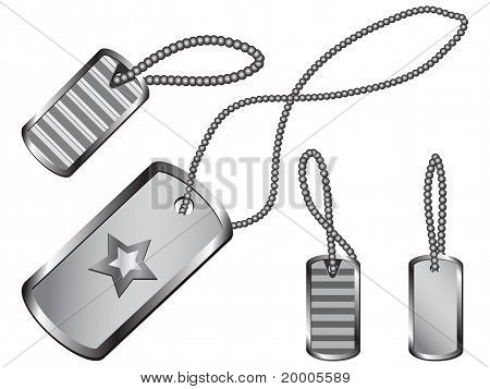 Dog Tag Set