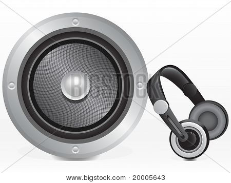 Speaker And Headphones