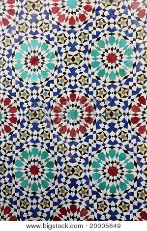 Fez mosaic
