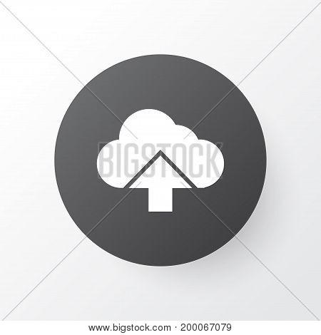 Premium Quality Isolated Load Element In Trendy Style.  Arrow Icon Symbol.