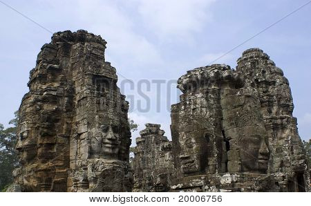 The Bayon Tample.