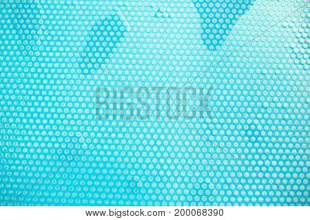 Swimming pool cover detail for protection  the water