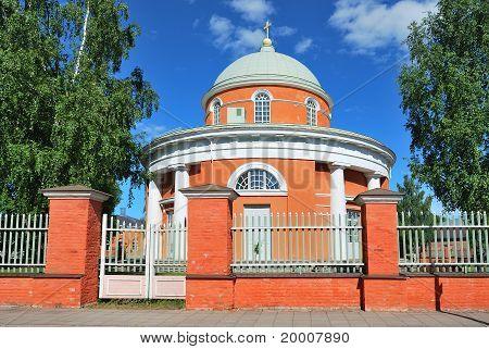 Hamina. Finland. The Round Church