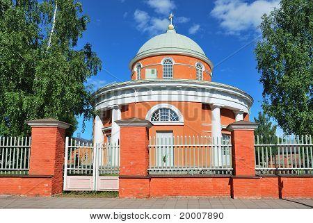 Hamina. Finland. The Round Church