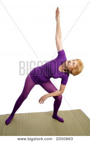Senior Yoga - Modified Triangle