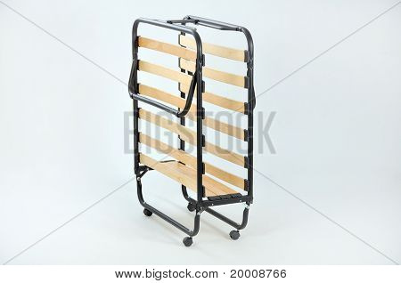 Foldaway Bed With Slats