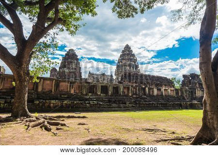 The Inner Sanctuary Of Prasat Hin Phimai, Ancient Khmer Temple Complex Or Landmark In Nakhon Ratchas