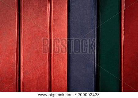 Old Books On Bookshelf And Backgrounds