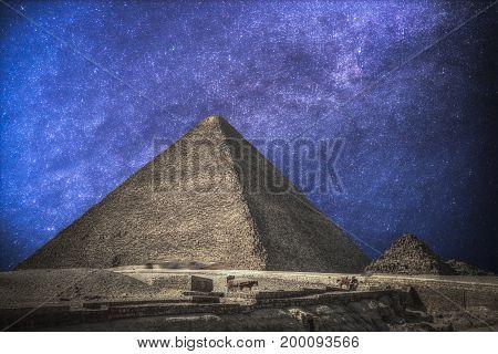 Pyramids In Giza.