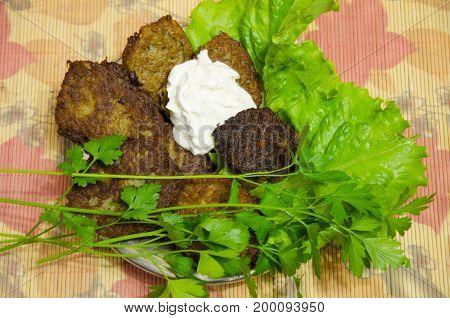 Potato drapery is a dish of Belarusian cuisine.