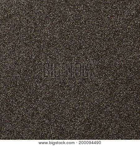 A digitally created brown glitter paper background texture.