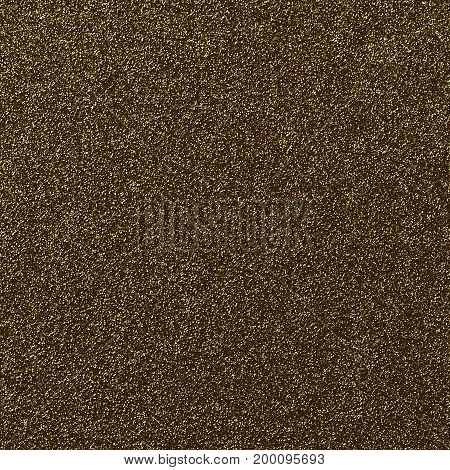 A digitally created bronze glitter paper background texture.