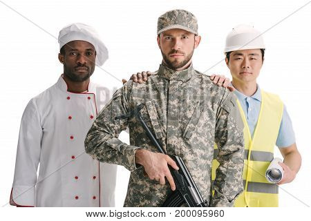 Soldier, Chef And Architect