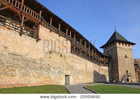 Medieval Fortress In Lutsk