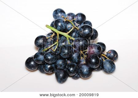 Blue Grapes From Above